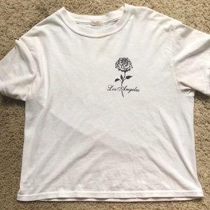 LA w/ rose t-shirt HALF OFF